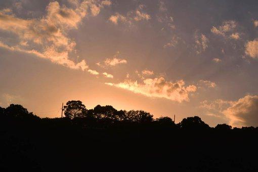 小手島の風景