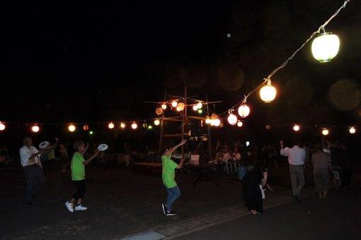 手島の盆踊り